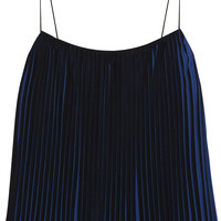 Dion Lee - Pleated chiffon top