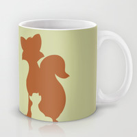 The Fox and The Hound Mug by Citron Vert