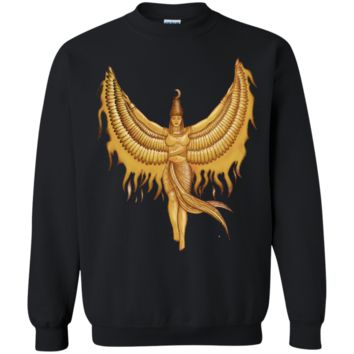 isis, goddess egypt with wings of the legendary bird phoenix sweatshirt T-Shirt