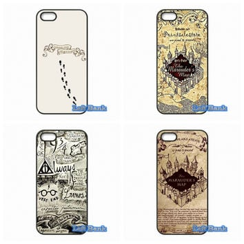 Harry Potter Marauder's Map Phone Cases Cover For Samsung Galaxy Note 2 3 4 5 7 S S2 S3 S4 S5 MINI S6 S7 edge