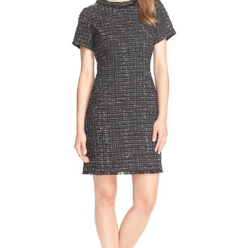 Kate Spade New York 'Woodland Tweed' Sheath Dress
