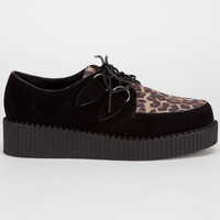 Diva Lounge Credence Womens Creepers Black  In Sizes
