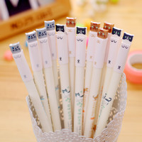 1pcs Cartoon Cat Gel Pen Cute Color Pens Kawaii Stationery Canetas Material School Supplies Office Supplies