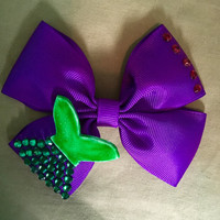 Ariel Little Mermaid Disney Princess Hair Bow