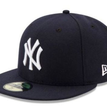MLB Boston Red Sox New Era Navy Game Authentic Collection On-Field 59FIFTY Fitted Hat