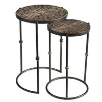 Sparkle Nesting Tables - Gold