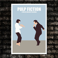 Pulp Fiction Movie Art Print Poster