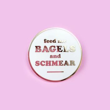 Bagels & Schmear Lapel Pin