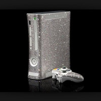 Custom Xbox 360 Made With Swarovski Elements