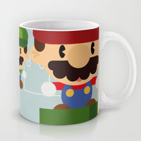 mario bros 2 fan art Mug by Danvinci
