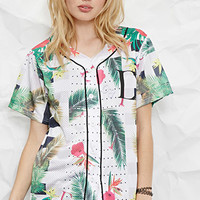Civil Regime Tropical Print Jersey