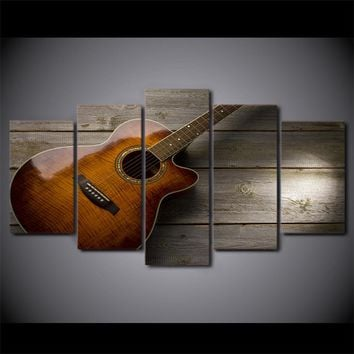 Classical Guitar Music Wall Art Canvas Print Picture Poster Wall Picture