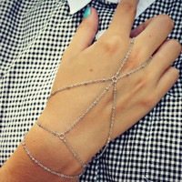 Stylish Awesome New Arrival Hot Sale Shiny Great Deal Gift Simple Design Chain Bracelet [6586374599]