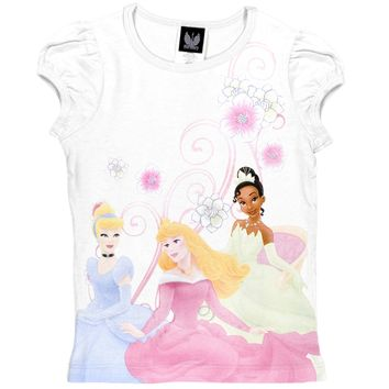 Disney Princesses - Garden Girls Juvy T-Shirt