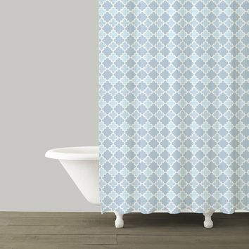 Marrakesh French Blue Shower Curtain