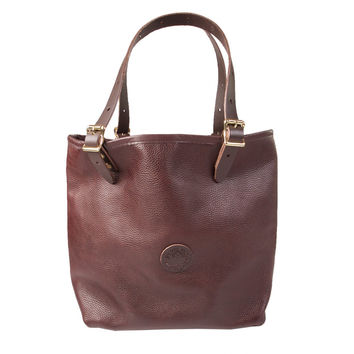 Duluth Pack Medium Leather Market Tote