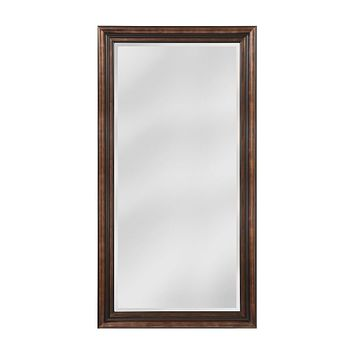 Crown Molding Pattern Wood Frame Mirror