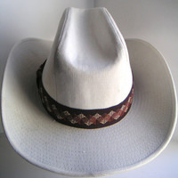 Vintage Western Hat by GW YA. Cowboys,Cowgirls,Country