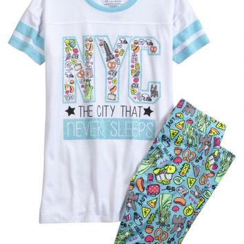 f1b31b972f59 NYC LEGGING PAJAMA SET