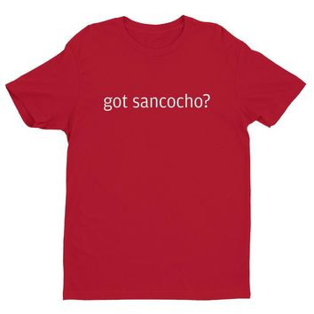 Got Sancocho? Short sleeve men's t-shirt / dominican t shirts / Dominican Republic