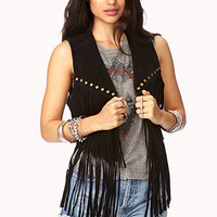 Out West Fringed Vest
