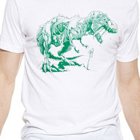 Nuclear Zombie T-Rex Tee [Glow in the Dark]