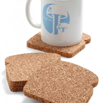 Toast It Coasters (Set of 8) by Design Ideas