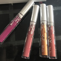 4-pcs Silver Set Cup Lip Gloss [11617133967]