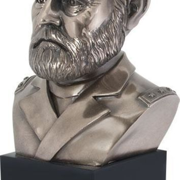 Ulysses S Grant US American President Military General Portrait Bust 8.75H