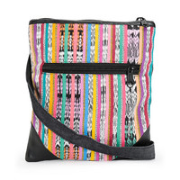Baja Bags Multi Tribal Crossbody Purse