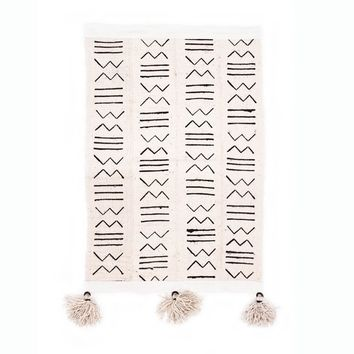 Small Mud Cloth Wall Banner