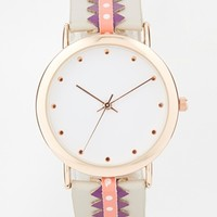 New Look Stitch Strap Watch