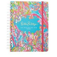Large Agenda - Scuba To Cuba - Lilly Pulitzer