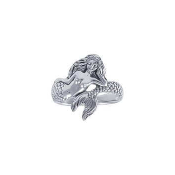 Mermaid Siren Ring TR3356