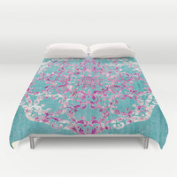 Reinventing A Taste of Lilac Wine Duvet Cover by Octavia Soldani | Society6