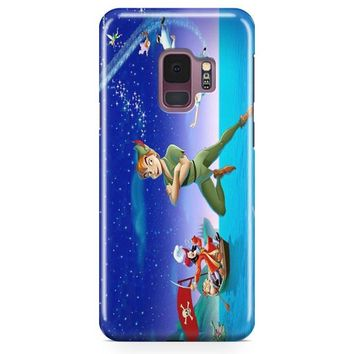 Peter Pan Tinkerbell Flying Samsung Galaxy S9 Case | Casefantasy