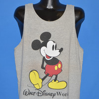 80s Mickey Mouse Tank Top t-shirt Extra Large