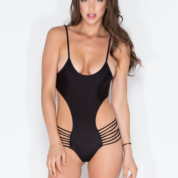 Hit The Surf One-Piece Swimsuit GoJane.com