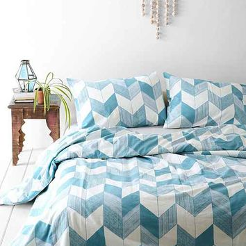 Assembly Home Adele Chevron Duvet Cover-