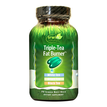 Irwin Naturals Triple-Tea Fat Burner, Softgels