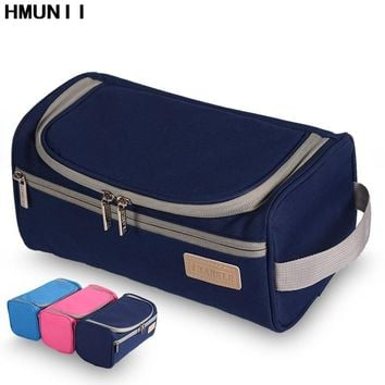 Men's High Quality Waterproof Travel Organizer Toiletry Make Up Bag Women Large Necessaries Make Up Beauty Zipper Cosmetic Bag