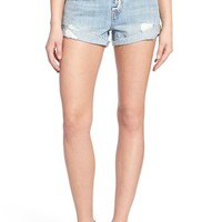 Levi's® '501® Customized' Distressed Rolled Denim Shorts | Nordstrom