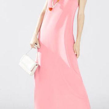 Raeghan Twisted Back Tank Maxi Dress - Pink