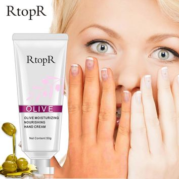 Olive Oil Serum Repair Nourishing Anti Chapping Anti Aging Moisturizing Whitening Hand Cream