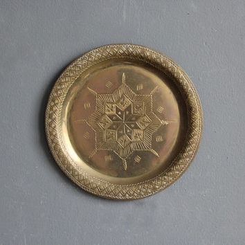 Hanging Brass Wall Plate