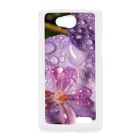 Wet Flower White Hard Plastic Case for LG L70 by Mick Agterberg