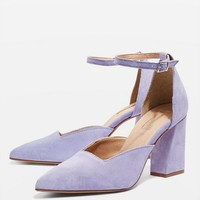 Two Part Heeled Court Shoes | Topshop