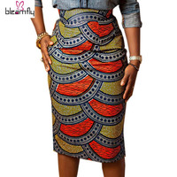 African Print Summer Pencil Skirts
