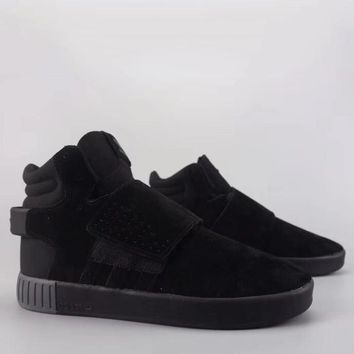 Adidas Tubular Invader Strap Fashion Casual High-Top Old Skool Shoes-18