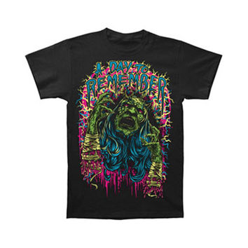 A Day To Remember Men's  Demon Screamer T-shirt Black